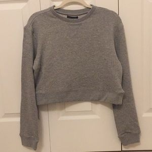 Pacsun gray sweatshirt